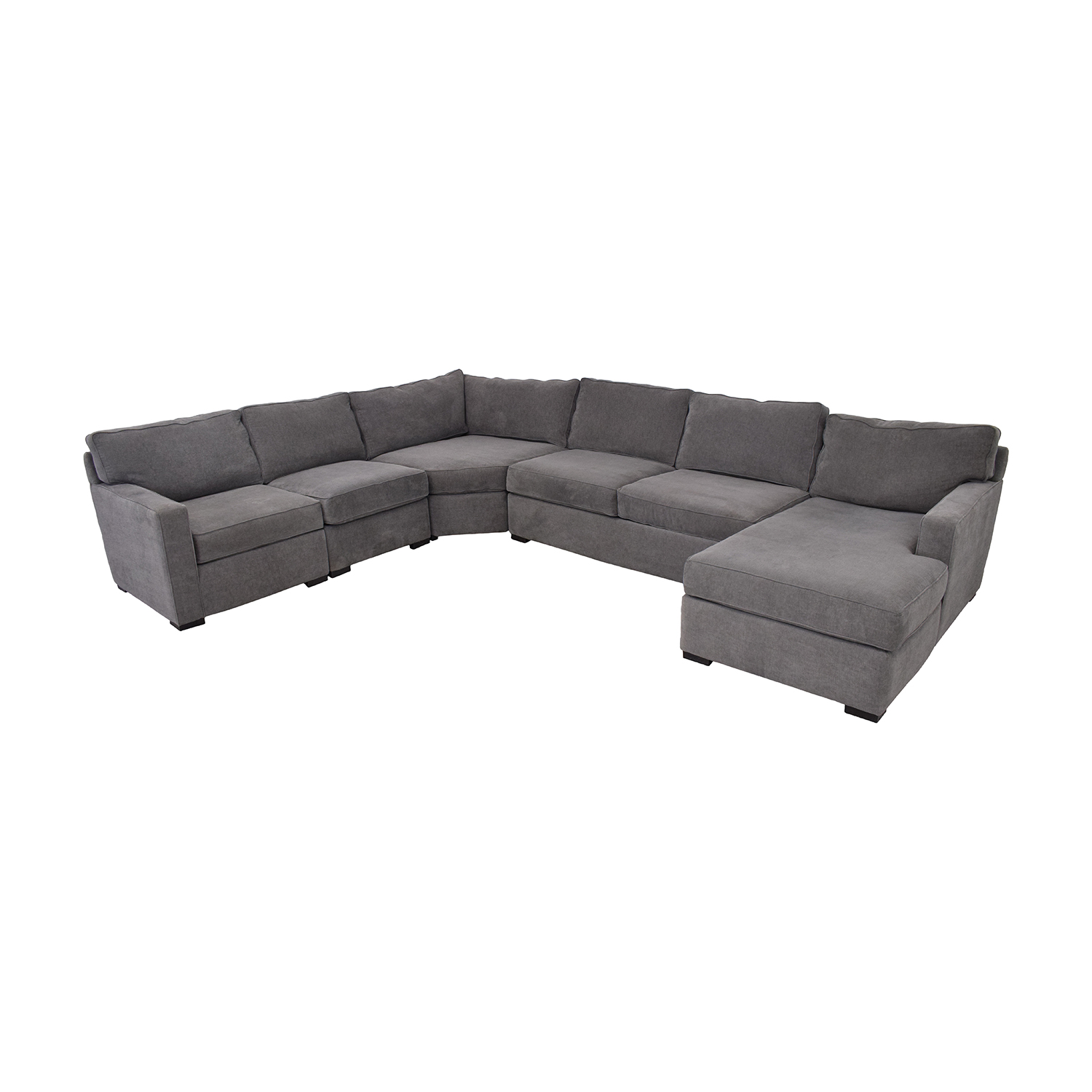 shop Macy's Macy's Radley Fabric 6-Piece Chaise Sectional Sofa with Corner Piece and Ottoman online