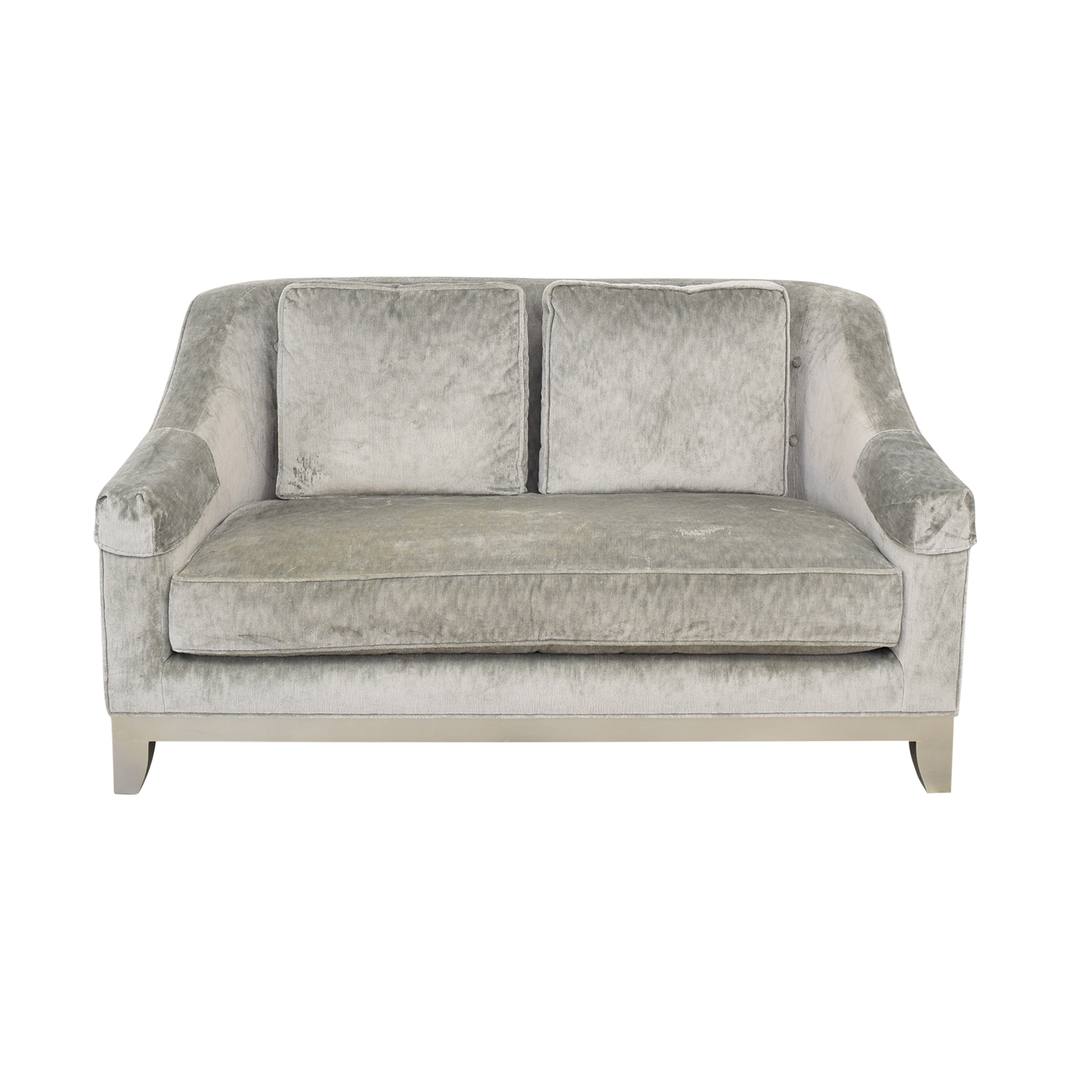 Baker Furniture Baker Two Seater Loveseat nyc
