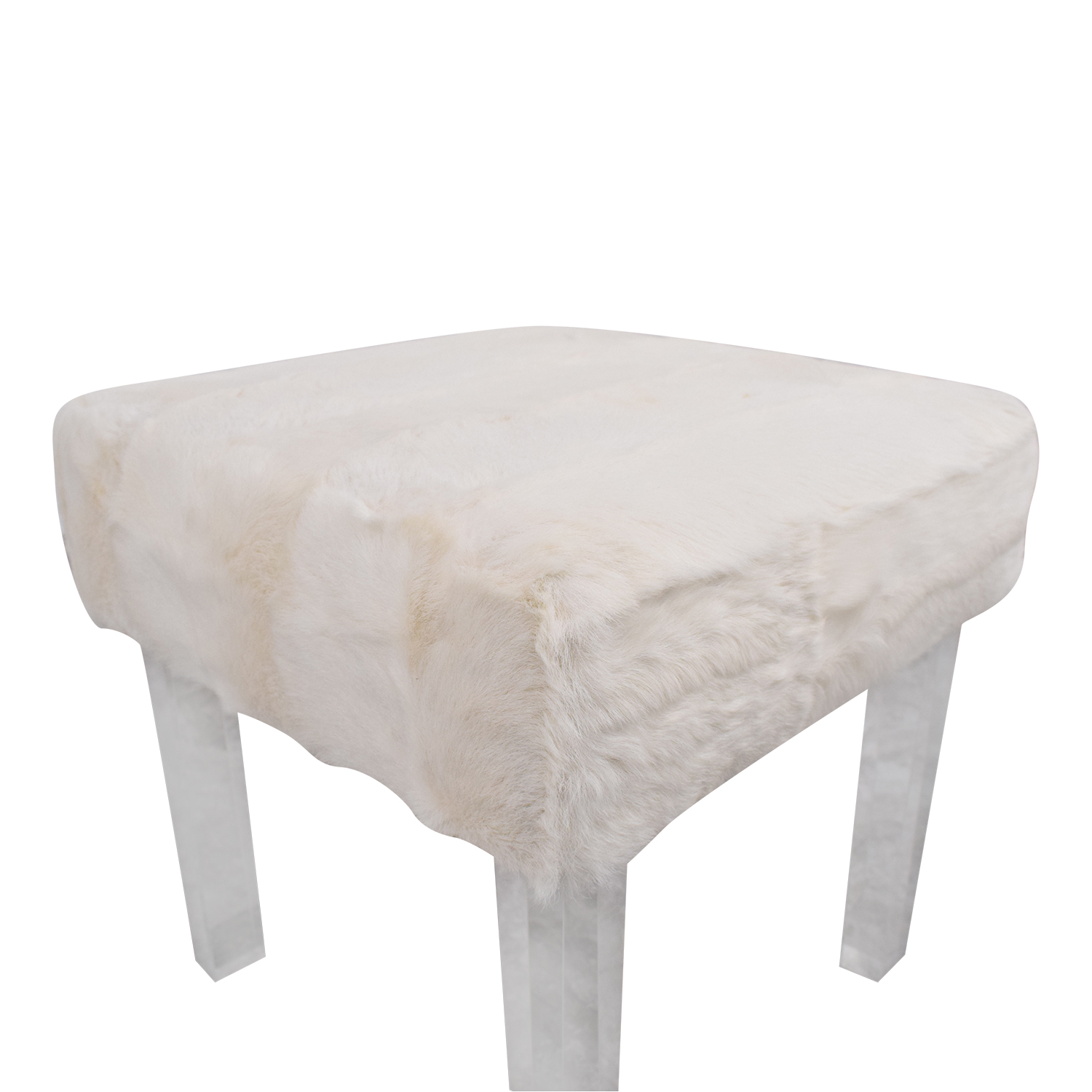 Outpost Original Outpost Original Lucite Bench with Fur price