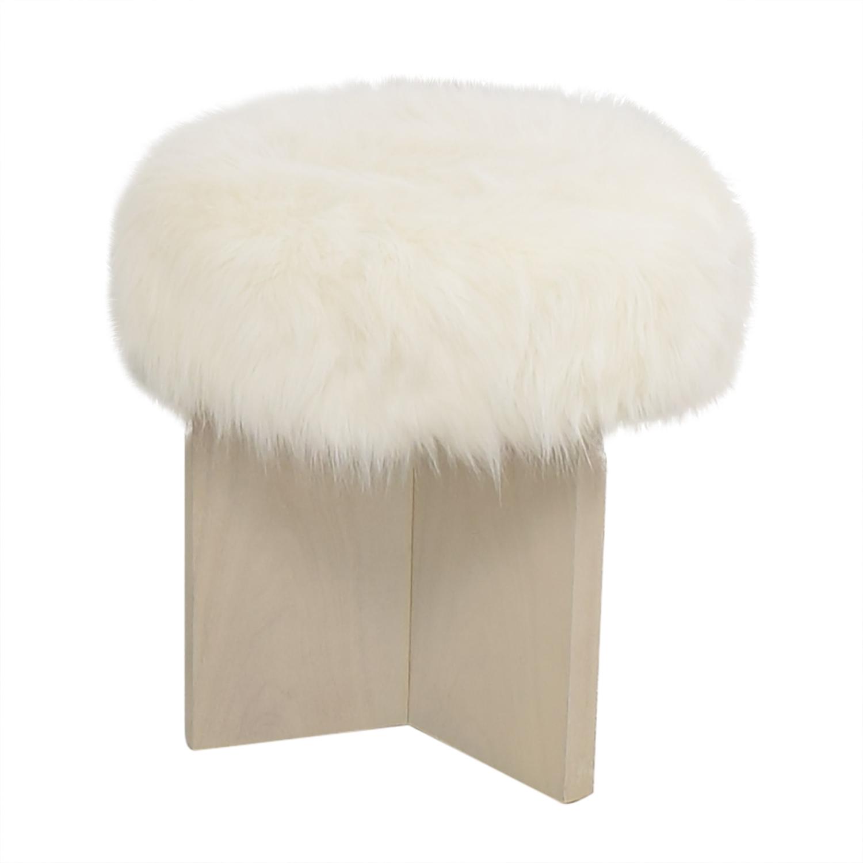 buy Baker Furniture Kara Mann for Milling Road Shorty Stool online