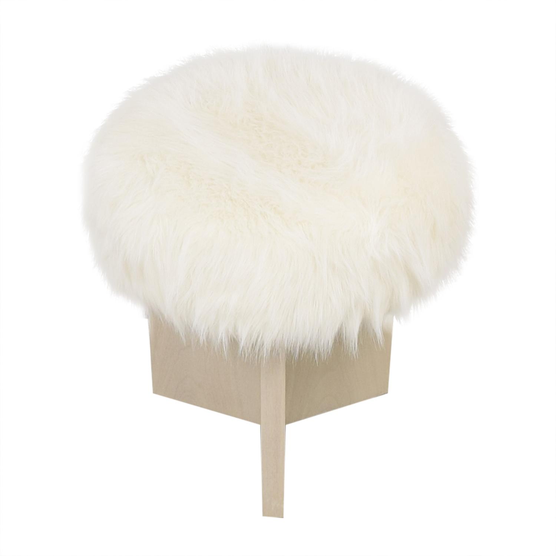 Baker Furniture Kara Mann for Milling Road Shorty Stool ma