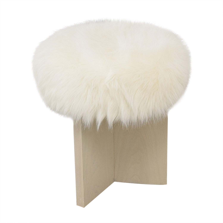 buy Kara Mann for Milling Road Shorty Stool Baker Furniture Chairs