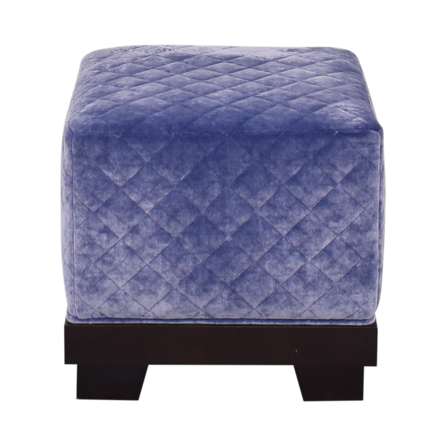 shop Quilted Cube Ottoman  Ottomans