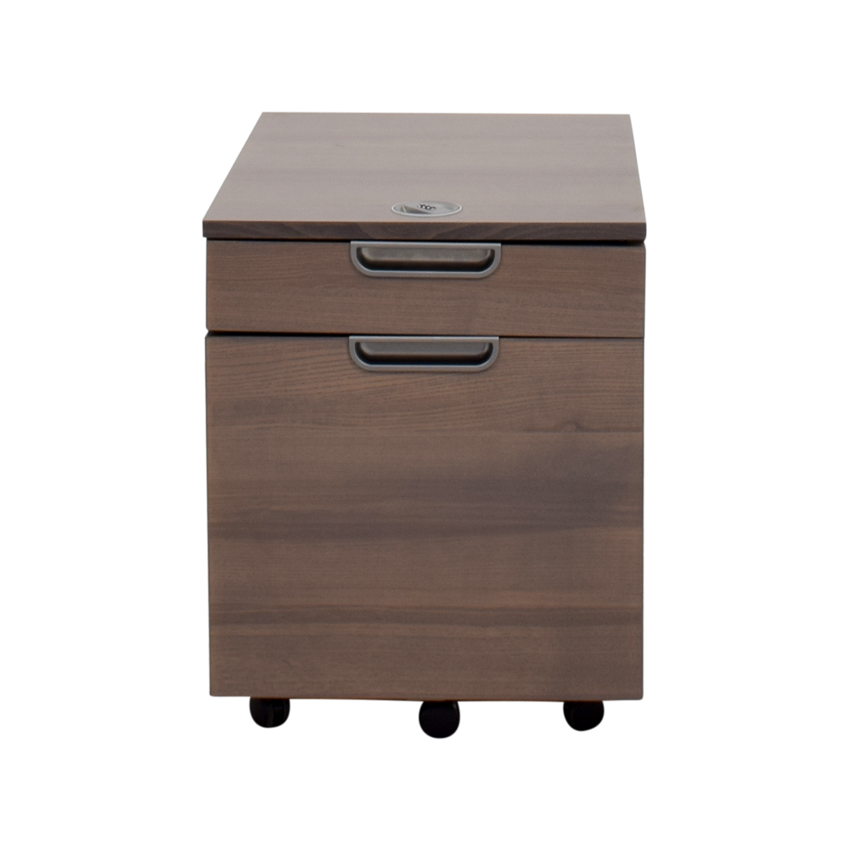 64 Off Ikea Ikea Galant Grey File Cabinet With