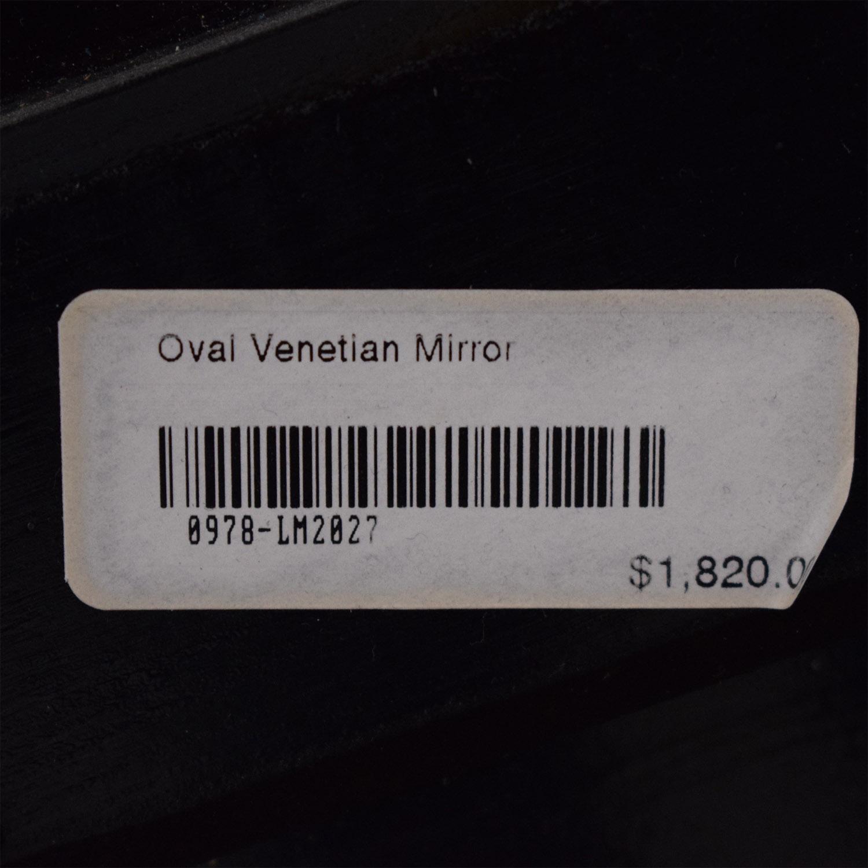 buy LaBarge Oval Venetian Mirror La Barge Decor
