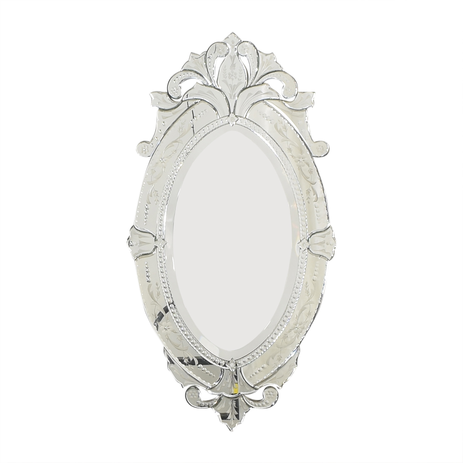 buy LaBarge Oval Venetian Mirror La Barge Decor