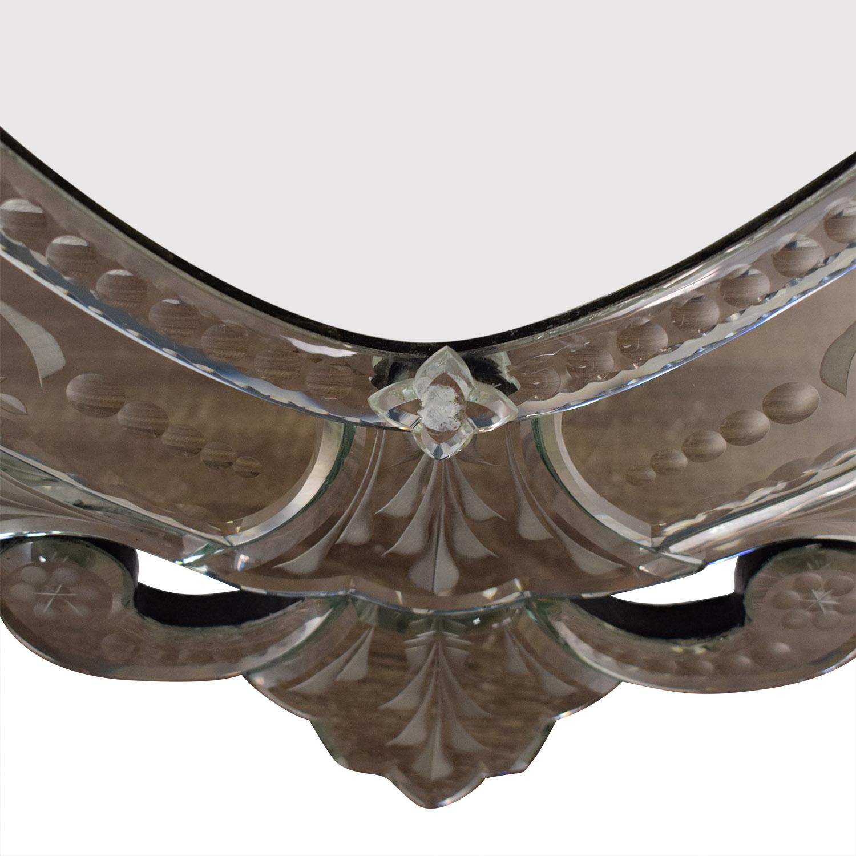 La Barge LaBarge Oval Venetian Mirror ma