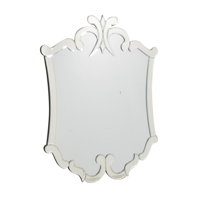 shop Mirrored Border Wall Mirror