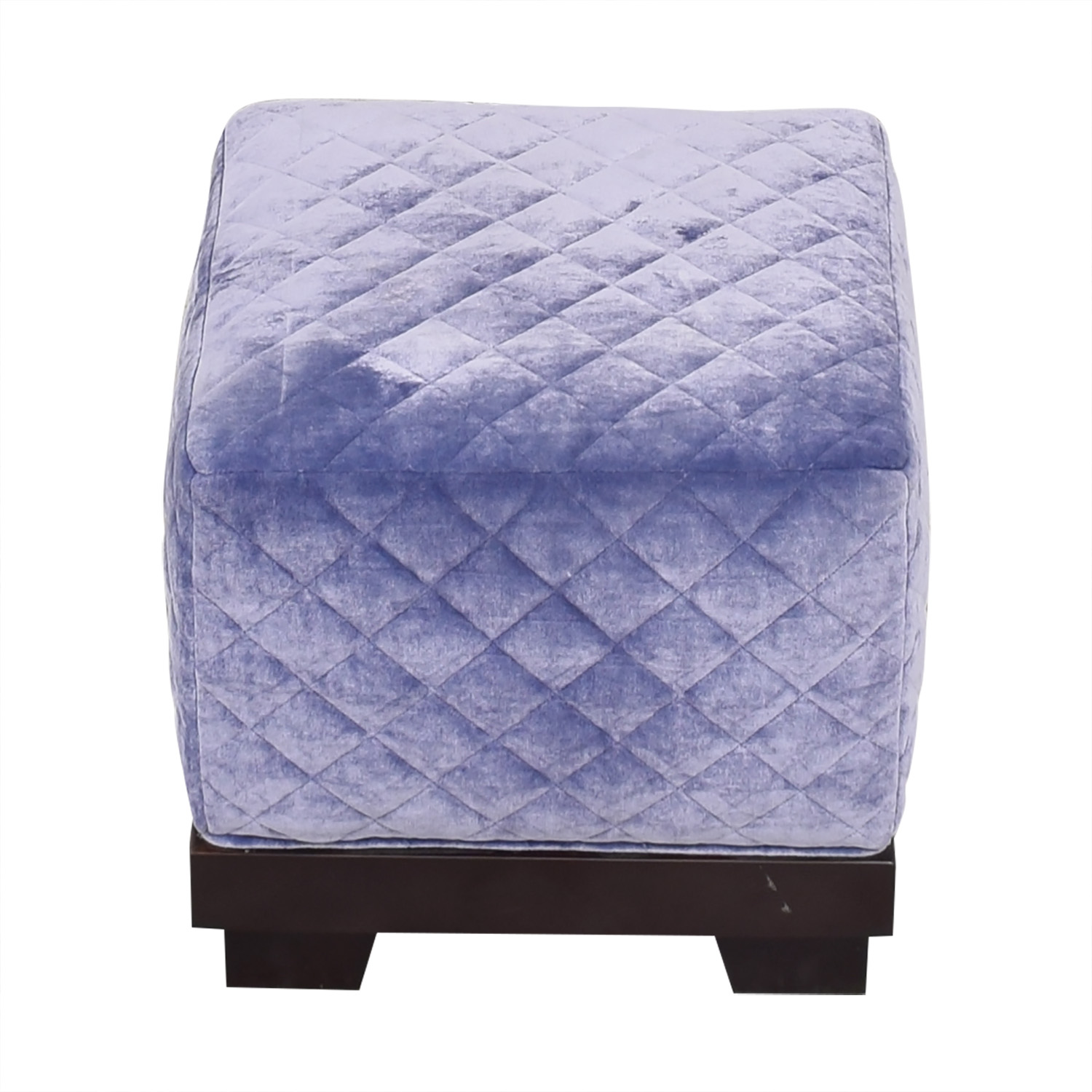Quilted Cube Ottoman