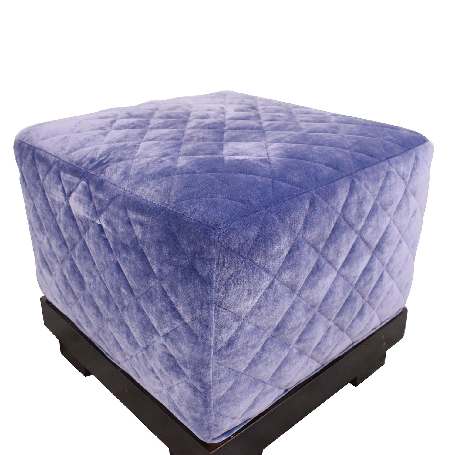 Quilted Cube Ottoman price