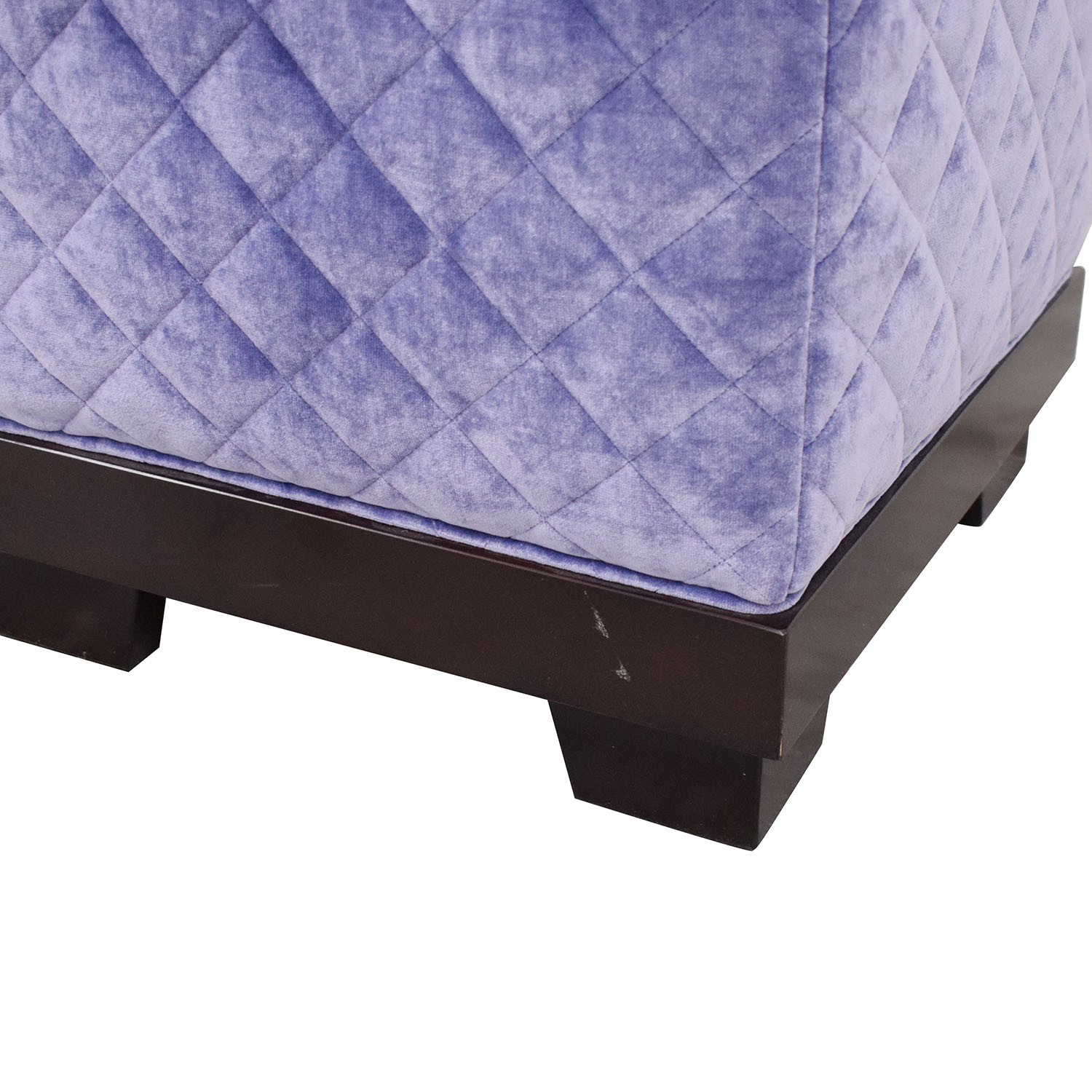 shop Quilted Cube Ottoman