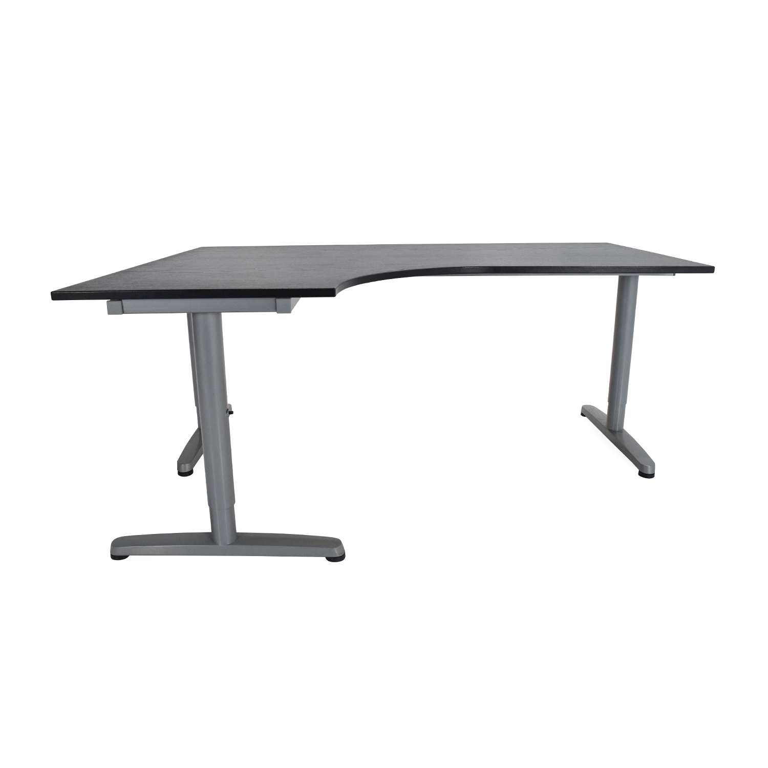 new product 01d54 e8afe 85% OFF - IKEA Galant Corner Desk / Tables