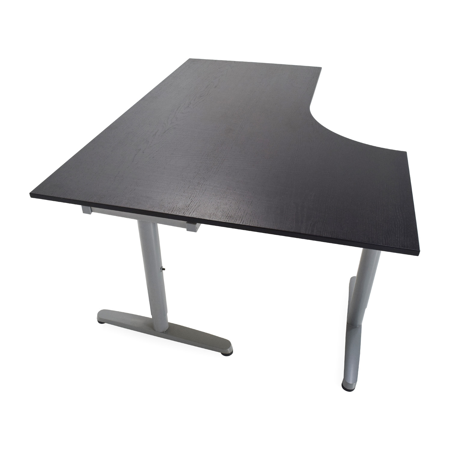 85 Off Ikea Galant Corner Desk Tables