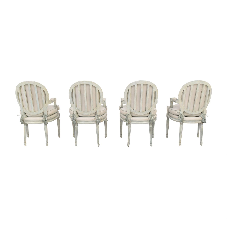 Nancy Corzine Nancy Corzine Louis XVI Arm Chairs discount