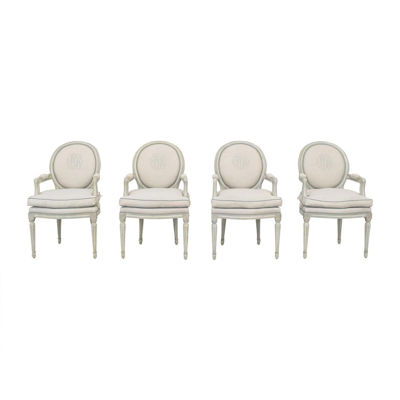 Nancy Corzine Louis XVI Arm Chairs Nancy Corzine