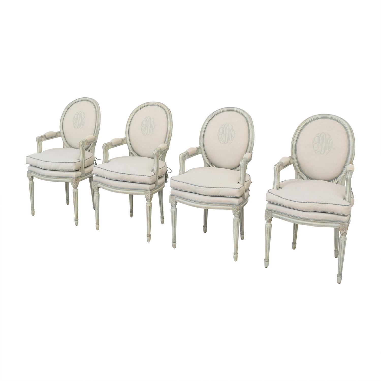 Nancy Corzine Nancy Corzine Louis XVI Arm Chairs coupon
