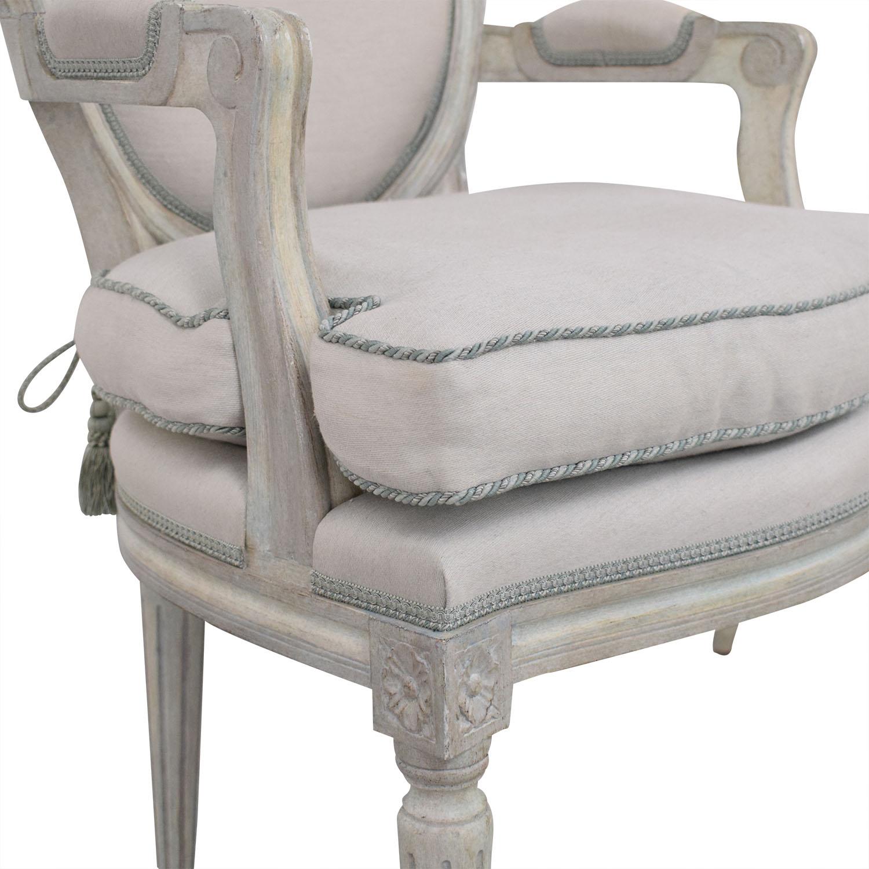 Nancy Corzine Nancy Corzine Louis XVI Arm Chairs ma
