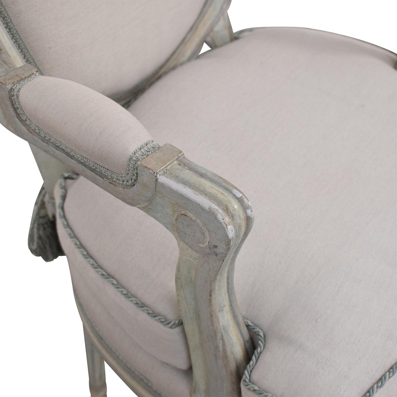Nancy Corzine Nancy Corzine Louis XVI Arm Chairs pa