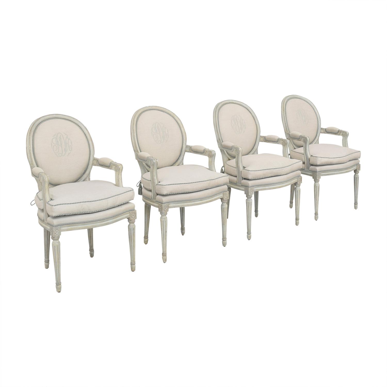 Nancy Corzine Nancy Corzine Louis XVI Arm Chairs ct