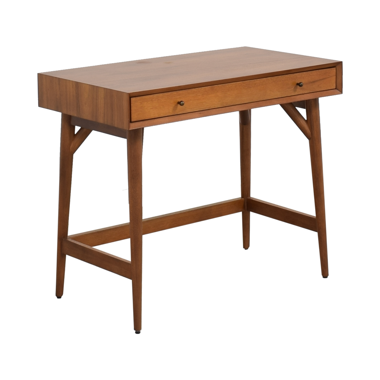 shop West Elm Mid Century Mini Desk West Elm Home Office Desks