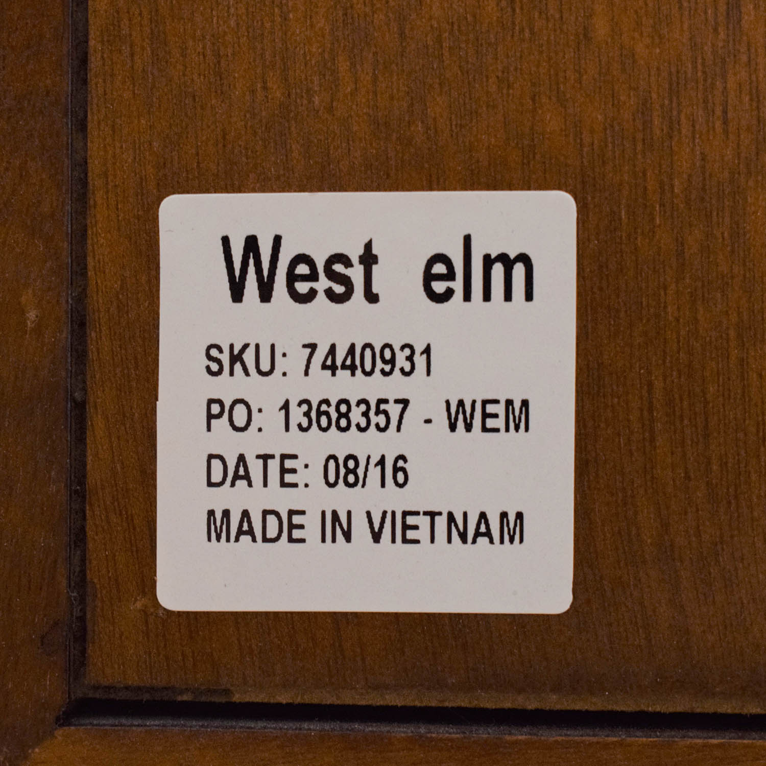 West Elm West Elm Mid-Century Small Buffet coupon