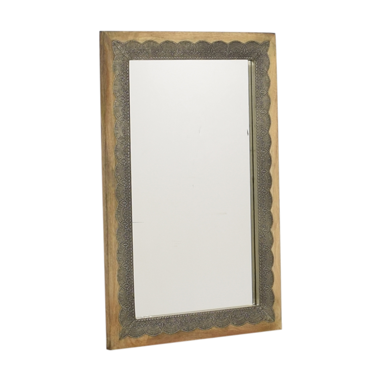 Cost Plus World Market World Market Scalloped Inlay Kali Mirror coupon