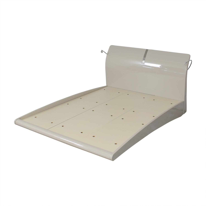 buy Orren Ellis Orren Ellis Janette Platform Queen Bed online