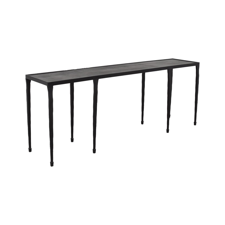 Crate & Barrel Crate & Barrel Silviano Iron Console Table Tables