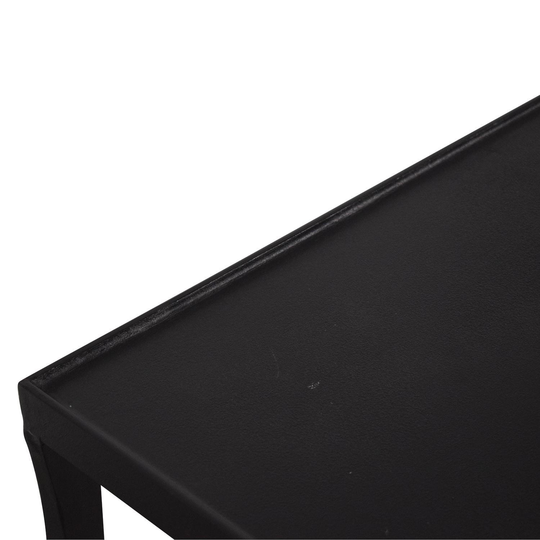 shop Crate & Barrel Crate & Barrel Silviano Iron Console Table online