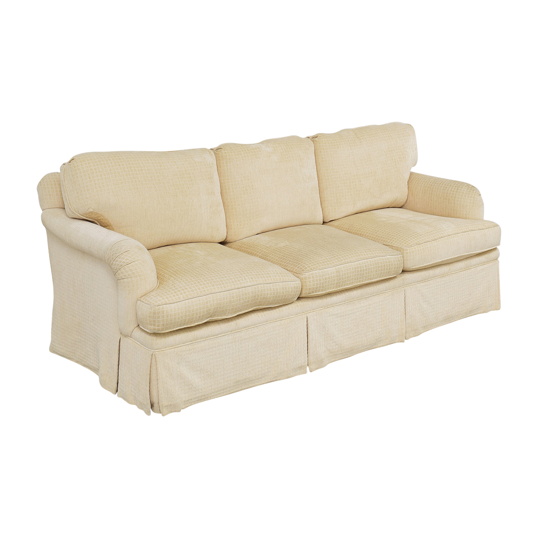 Mason-Art Mason-Art Three Seat Skirted Sofa ct