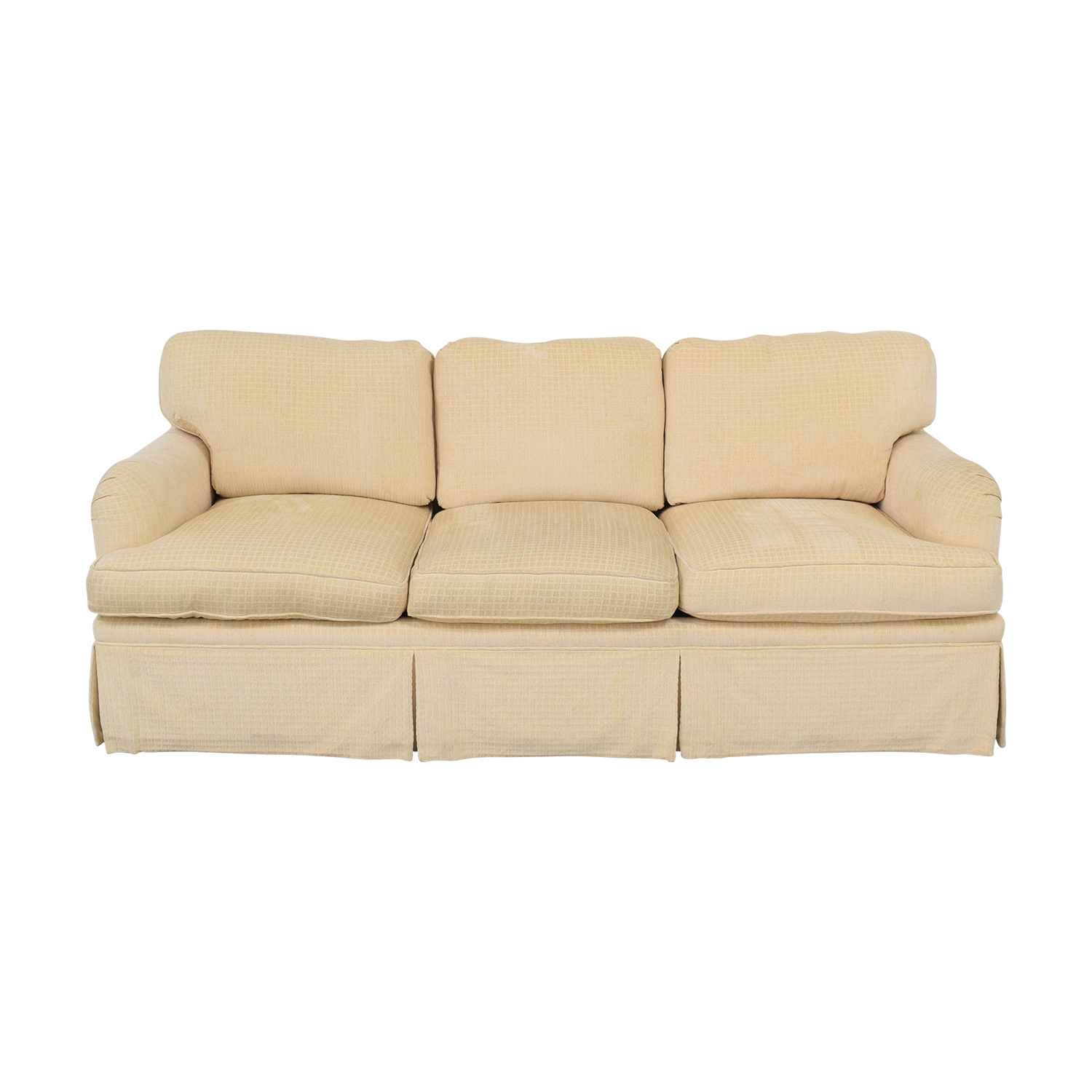 Mason-Art Mason-Art Three Seat Skirted Sofa ct