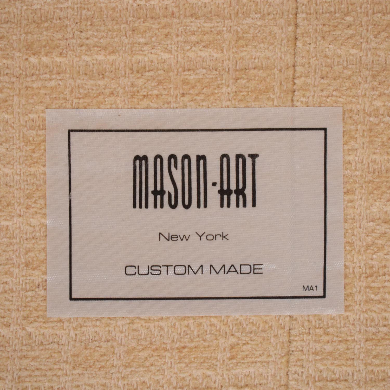 Mason-Art Mason-Art Three Seat Skirted Sofa pa