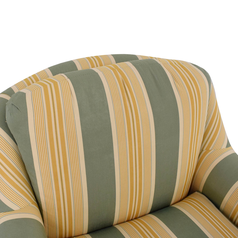 buy Mason-Art Custom Made Chair and Ottoman Mason-Art Accent Chairs
