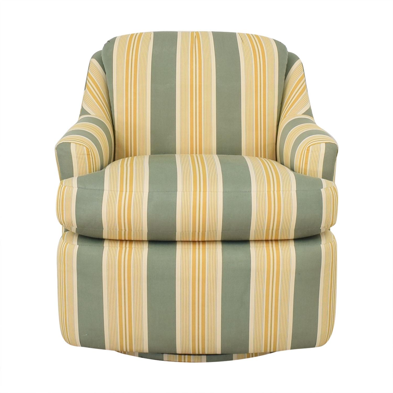 Mason-Art Mason-Art Custom Made Chair and Ottoman nyc