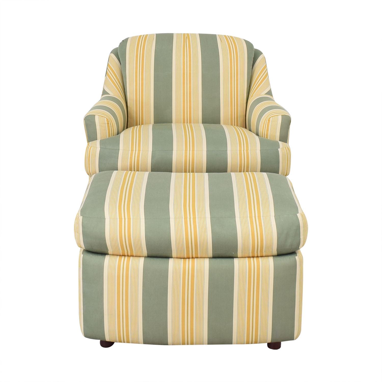 Mason-Art Custom Made Chair and Ottoman / Accent Chairs