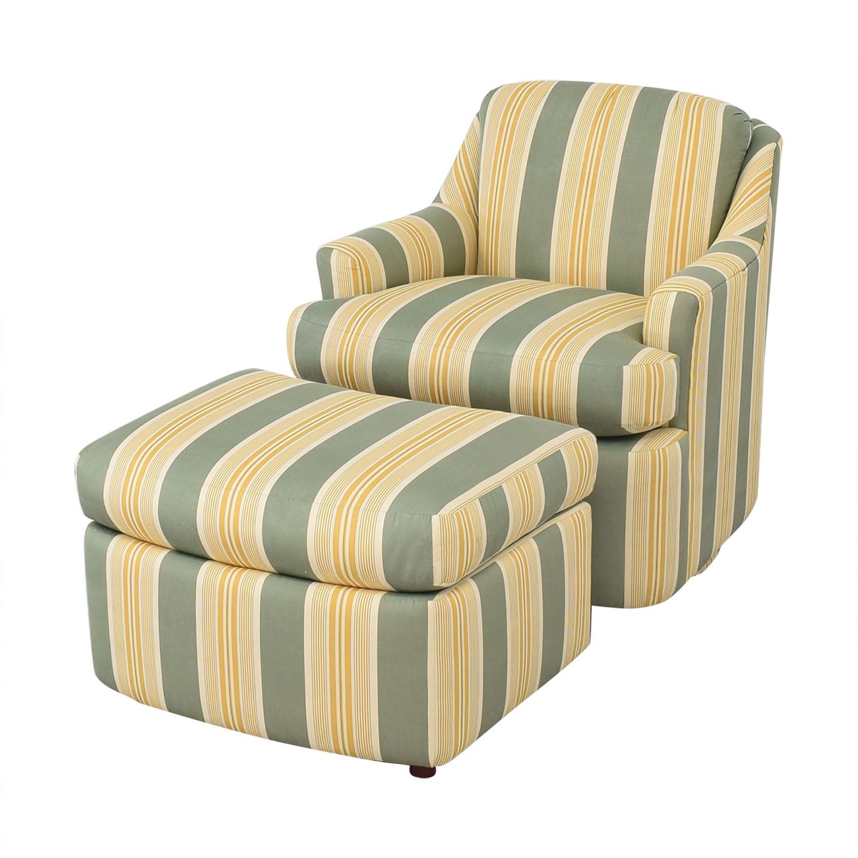 Mason-Art Mason-Art Custom Made Chair and Ottoman pa