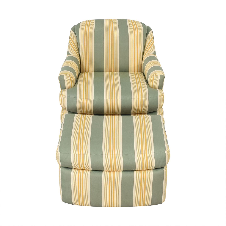shop Mason-Art Custom Made Chair and Ottoman Mason-Art