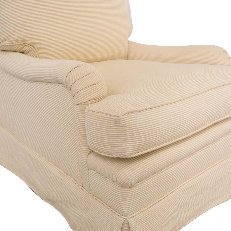 shop Mason Art Slipcovered Chair Mason-Art Accent Chairs