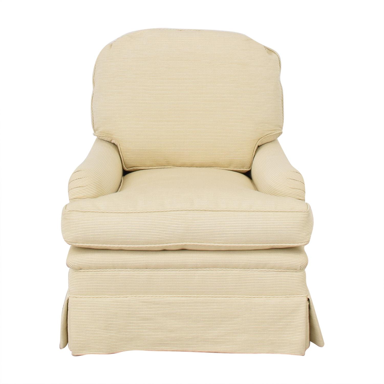 Mason-Art Mason Art Slipcovered Chair dimensions