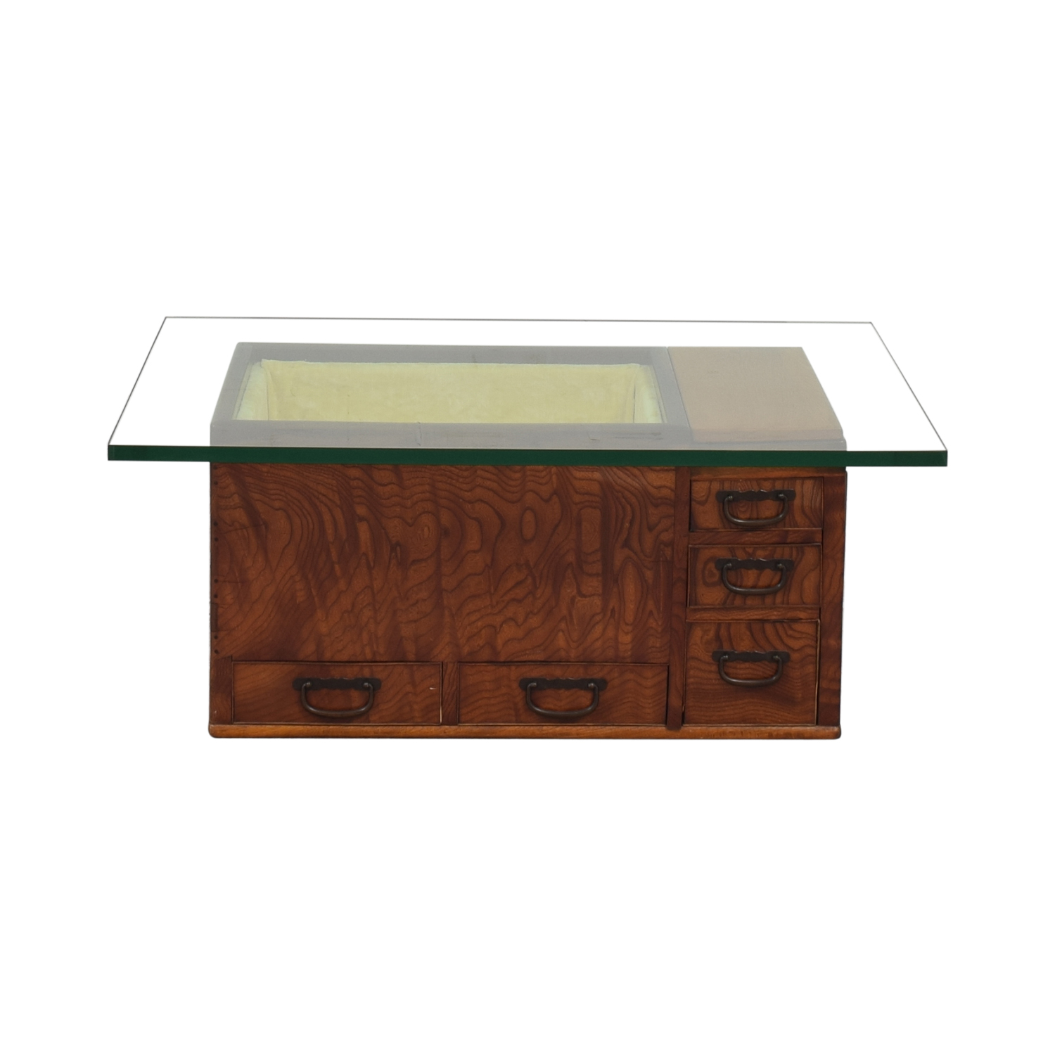Glass Top Coffee Table pa