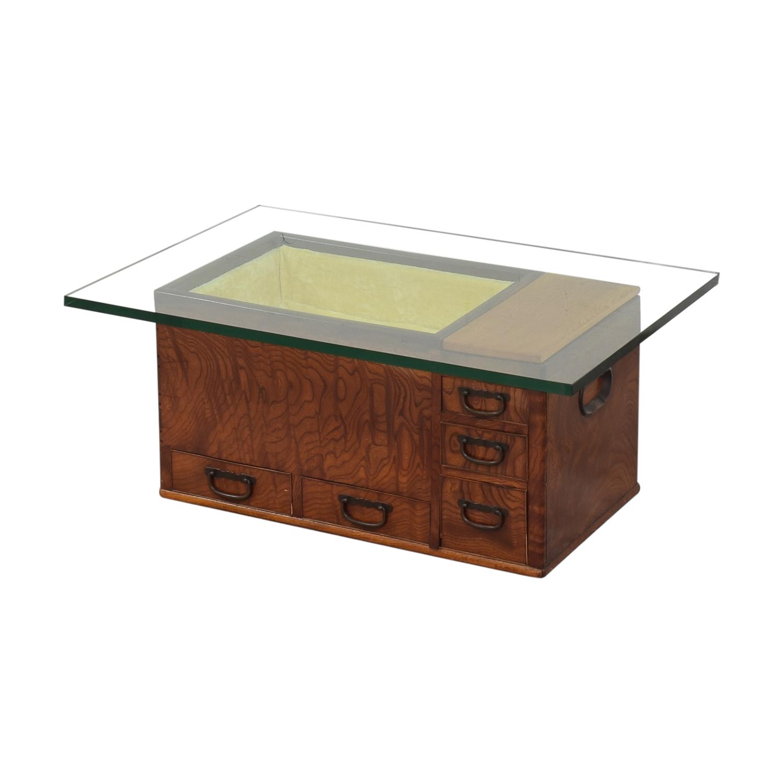 buy Glass Top Coffee Table