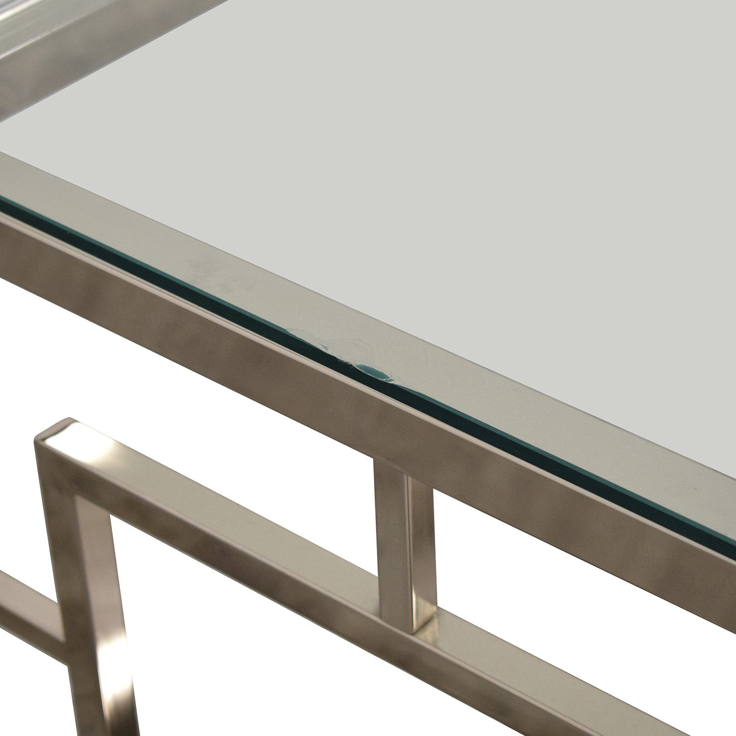 West Elm West Elm  Glass Coffee Table discount
