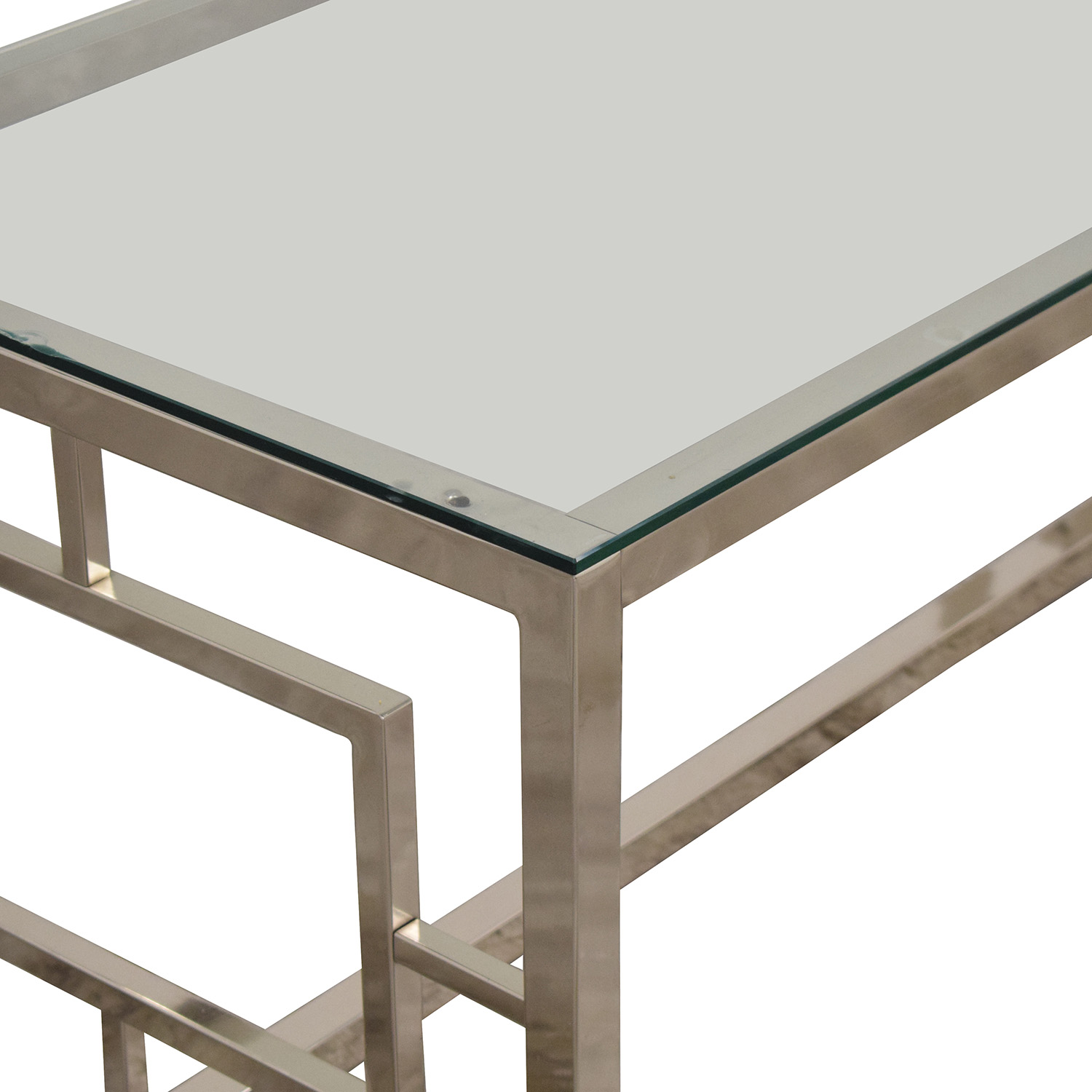 West Elm West Elm  Glass Coffee Table second hand