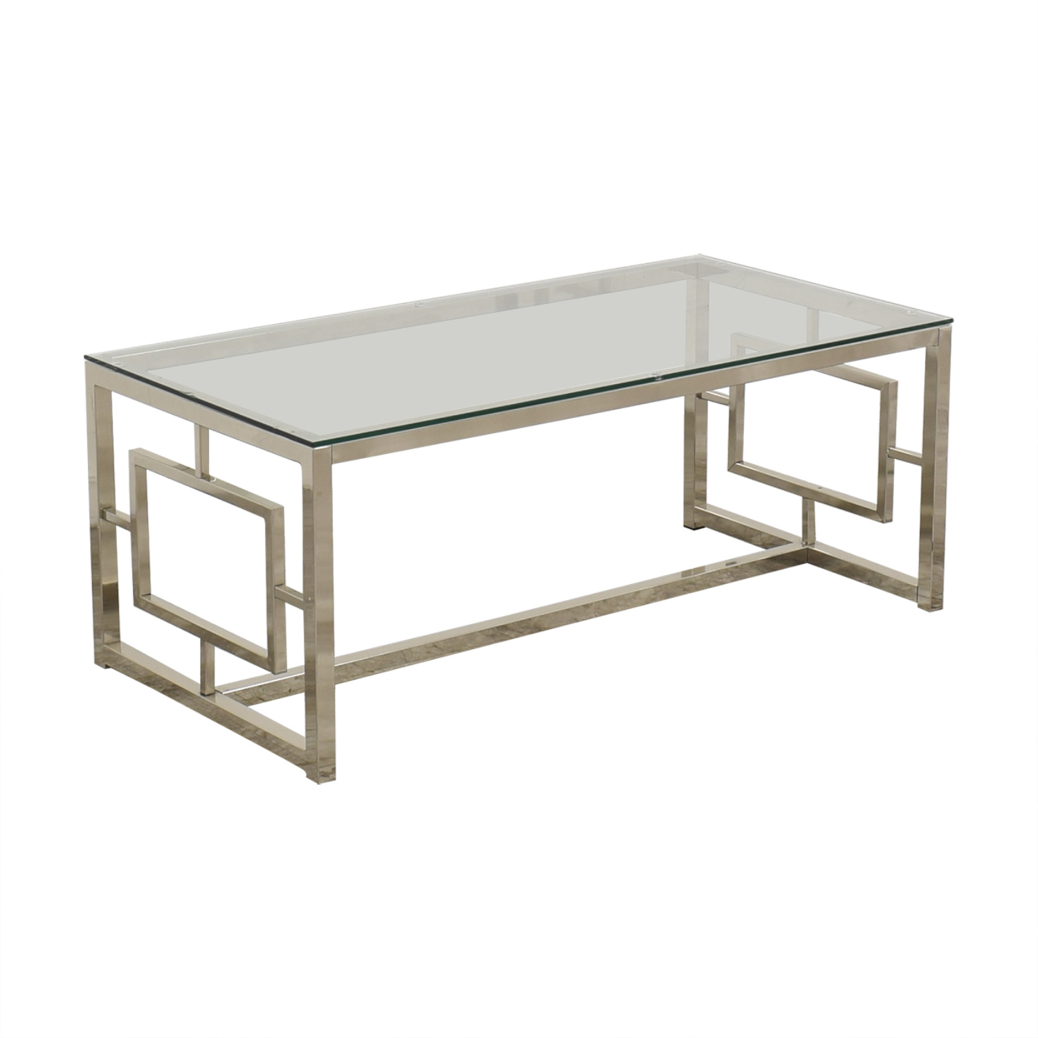West Elm West Elm  Glass Coffee Table price
