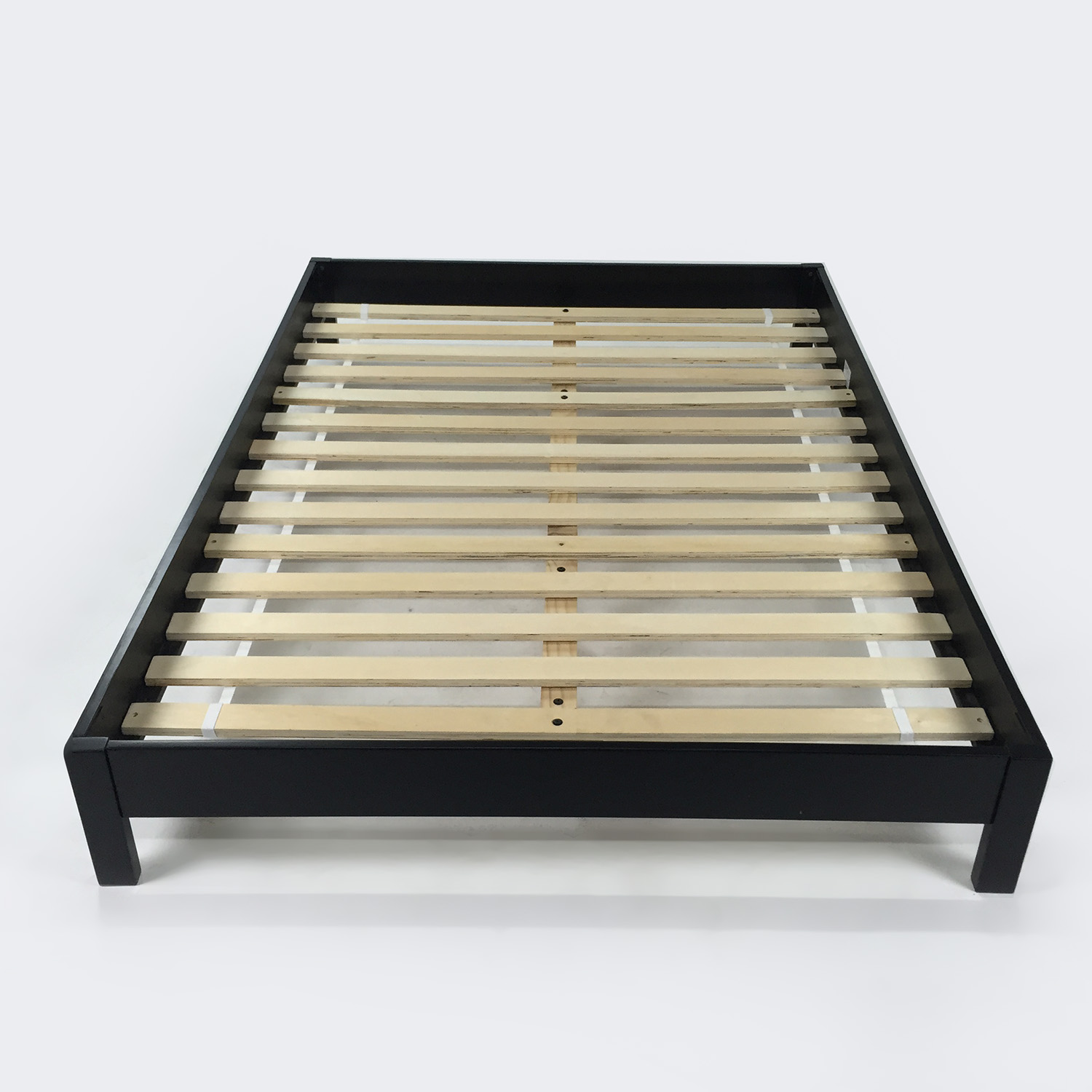 Size black bed frame 28 images size black bed frame for Full size bed frame
