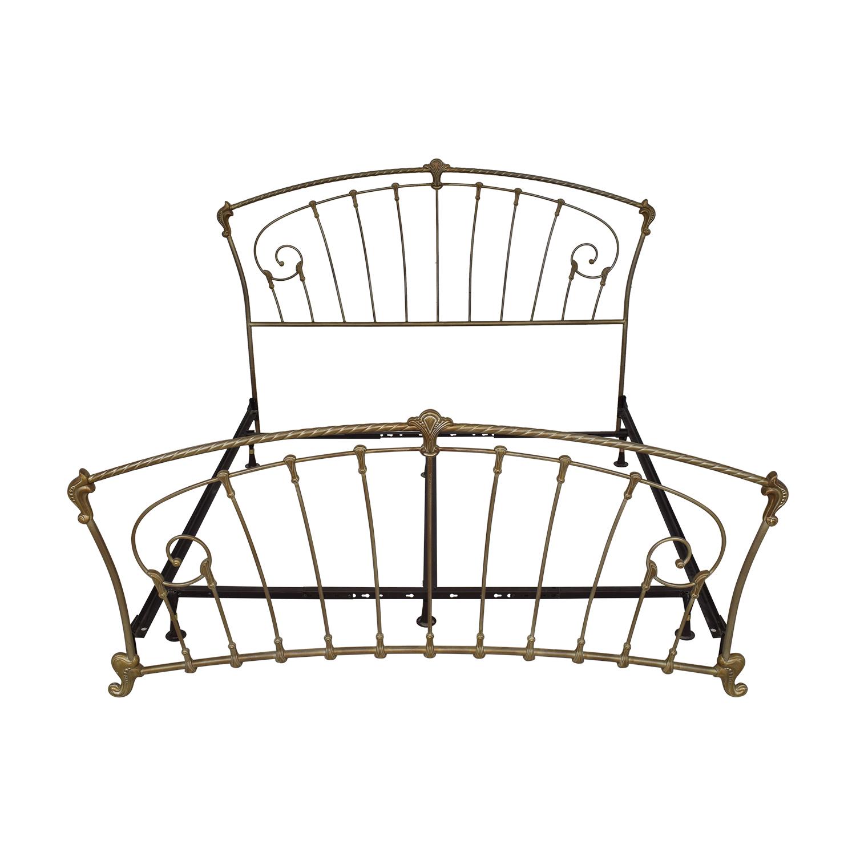 shop  Metal Frame King Bed online