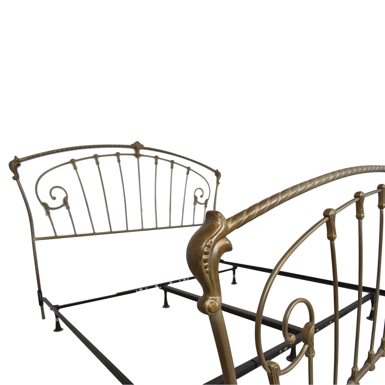 buy Metal Frame King Bed  Bed Frames