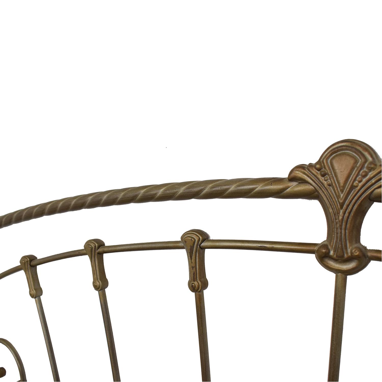 Metal Frame King Bed