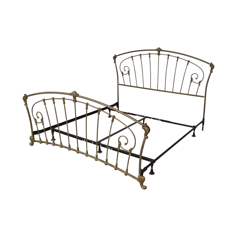 Metal Frame King Bed sale