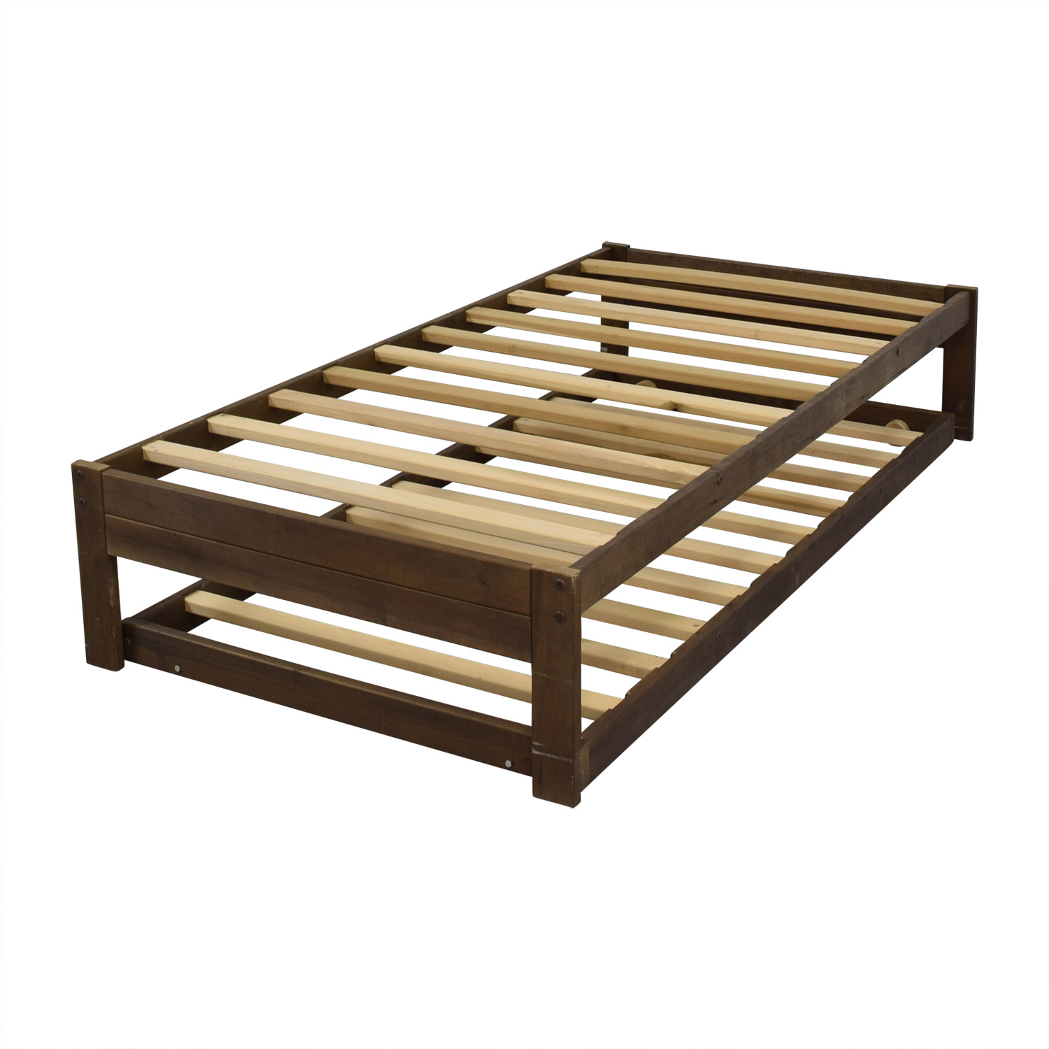 49 Off Trundle Twin Platform Beds Beds